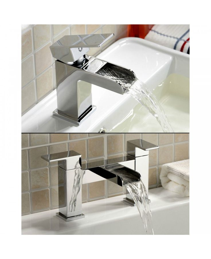 Our range of Cascade waterfall bathroom taps are perfect for adding a beautiful and elegant ambience to your bathroom. They are perfect for complimenting any modern bathroom or updating an existing bathroom for a more modern touch, and the high quality chrome finish is guaranteed to add that sparkle to your bathroom. They are of great build quality, with a splash-free waterfall from the spout, which is great for a modern look in your bathroom.
