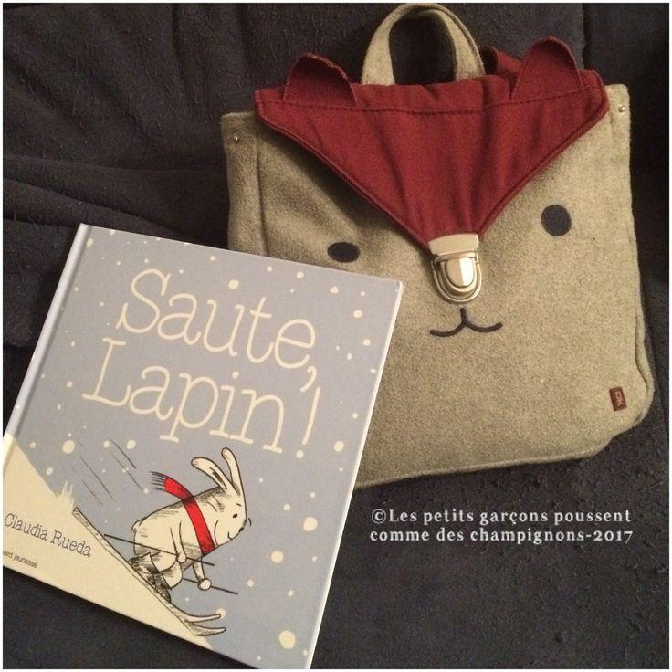 Découvrez Saute Lapin un livre absolument indispensable dans toute bibliothèque d'enfant, pour rire aux éclats et voir briller les petits yeux.