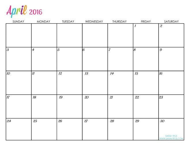 April 2016 Calendar Canada April-2016-Calendar-Canada1 April 2016 Calendar Canada