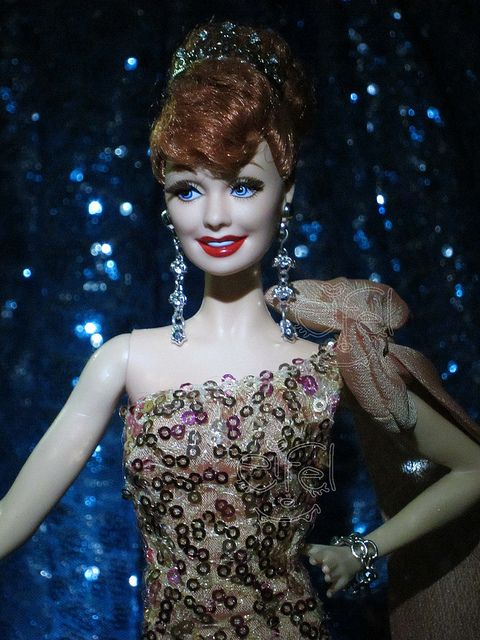 Barbie : I Love Lucy, via Flickr.