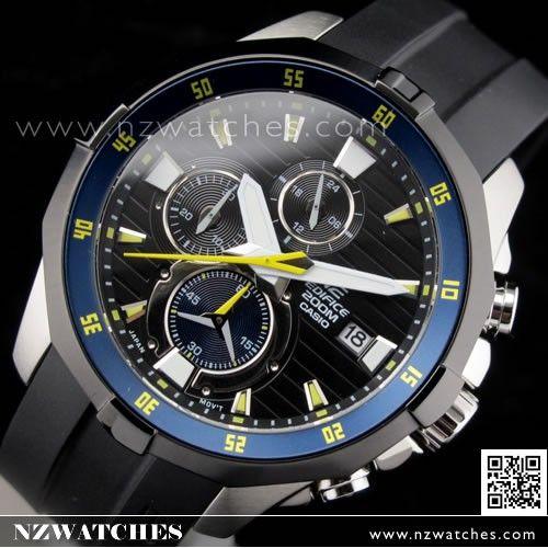 BUY Casio Edifice Chronograph Screw Lock Crown Advanced Marine watch EFM-502-1AV, EFM502 - Buy Watches Online | CASIO NZ Watches