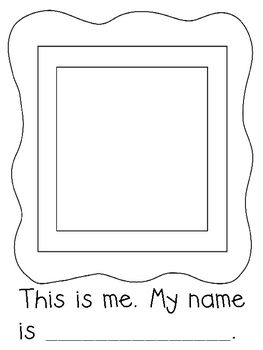 Help students learn new names by making a class book. Includes cover page and page for students to complete. They will draw themselves and complete...