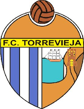 FC Torrevieja of Spain crest.