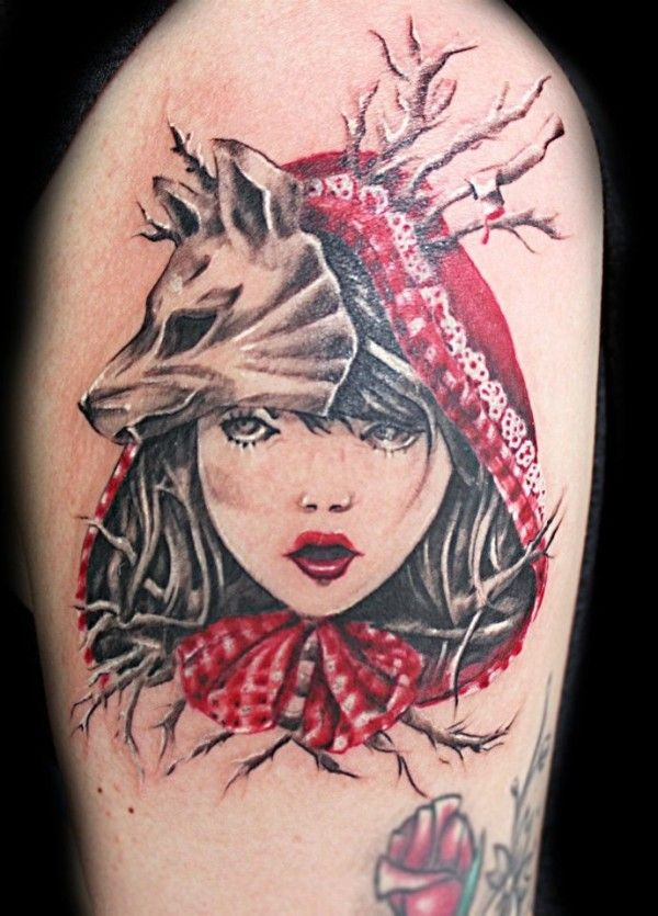 102 best images about red riding hood tattoo on pinterest. Black Bedroom Furniture Sets. Home Design Ideas