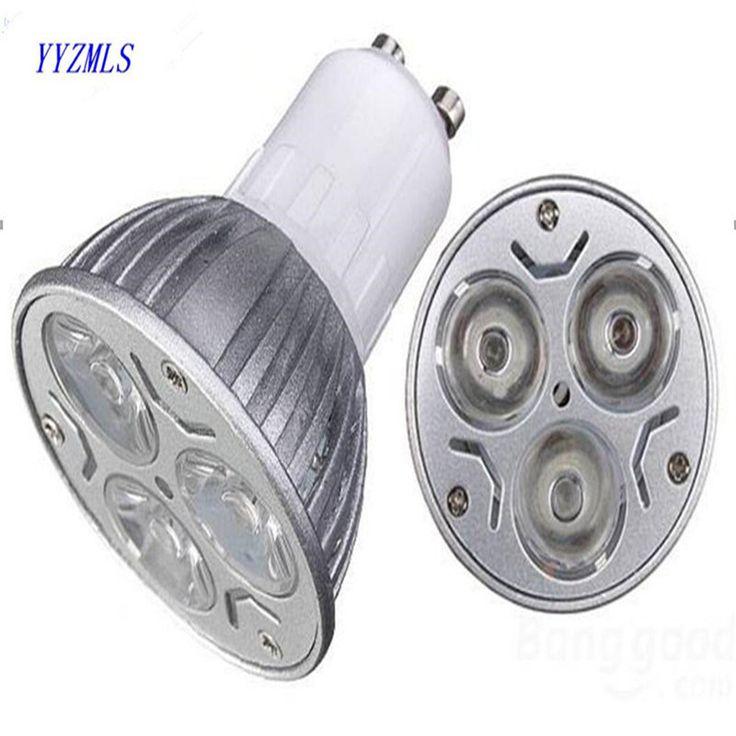 High power Epistar dimmable led spotlight GU 10 MR16 GU5.3 220V 230V 240V 9W LED down Light Bulb lamp spot light free shipping