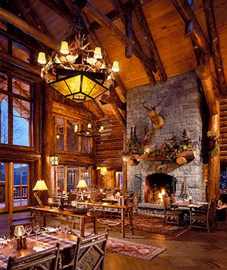 Most #Romantic Hotel Fireplaces: @WhitefaceLodge in the Adirondacks, NY