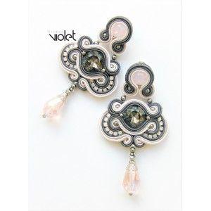 Soutache earrings - Beauty Queen