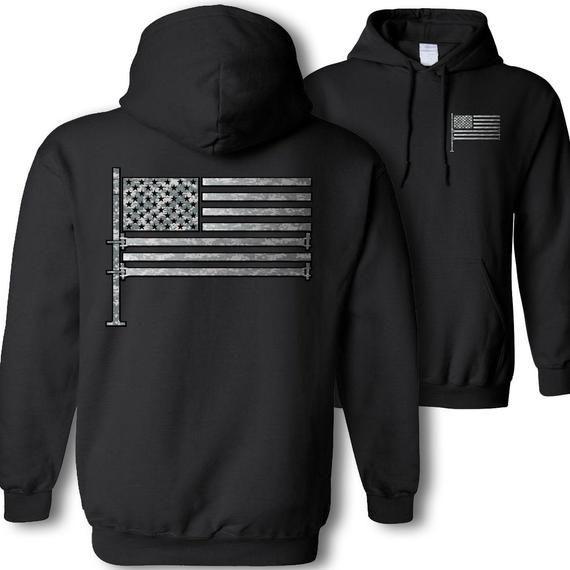 American Flag Scaffolder Hoodie Usa Flag Construction Scaffolding Sweatshirt Hoodie Scaffold Camouflage American Flag Patriotic Hoodie En 2020