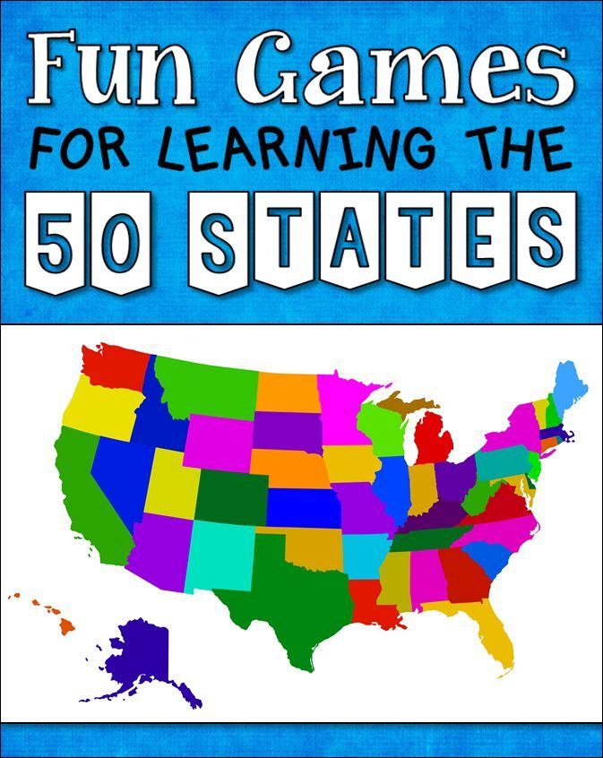 How well do your students know the 50 US states and capitals? If their knowledge is rusty, check out this terrific collection of fun review games and resources!