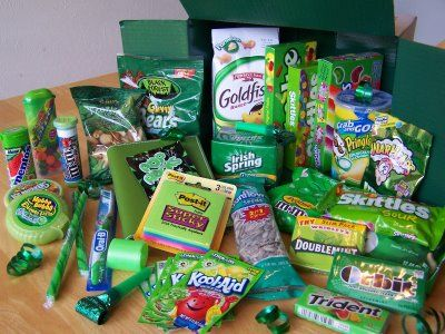 St. Patrick's Day carepackage