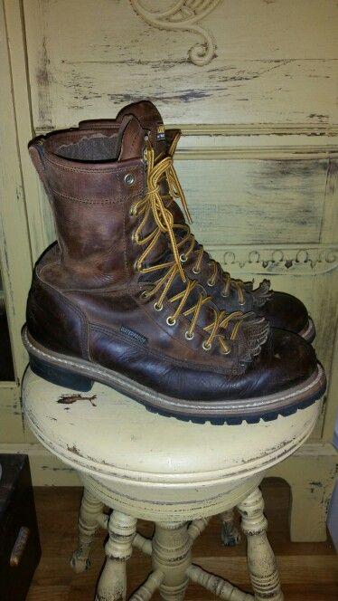 Vintage Carolina Logger Boots