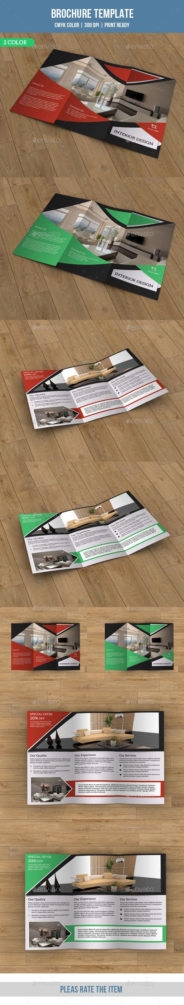 Description: Trifold Brochure for Business. Template. All is layered,grouped and named. Easy to edit font,text,color,image and mor
