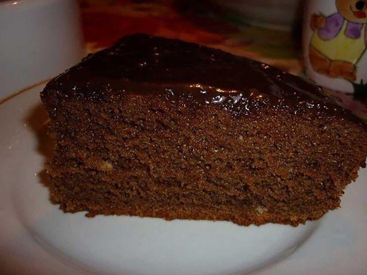 Csokoládés kevert tészta, ha nem tudsz piskótát készíteni, próbáld ki ezt a receptet!