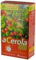 ARKOPHARMA ACEROLA 1000 30 COMPRIMES A CROQUER(vitamine C 100% Naturelle)