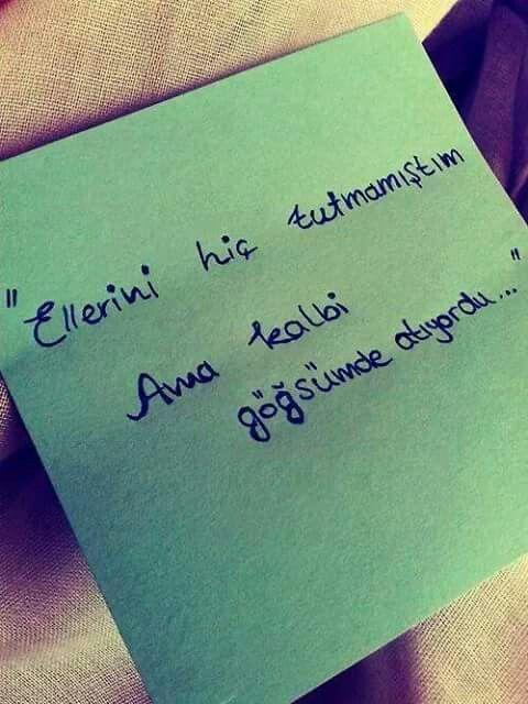 Hissetmek!. . .