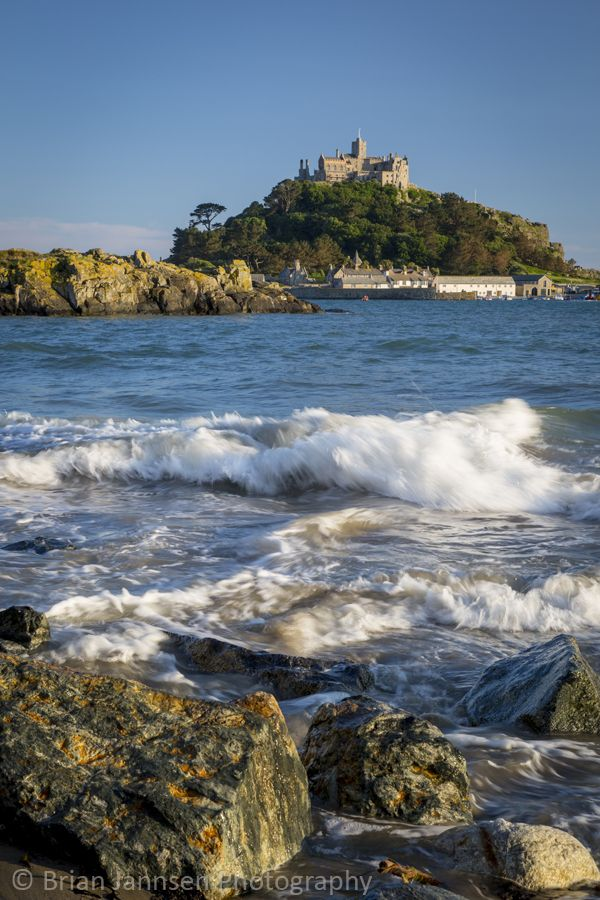 St Michael's Mount * Marazion * Cornwall * England * © Brian Jannsen Photography