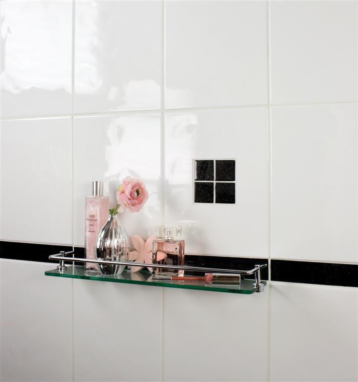 Super Relief White Wall Tile | Topps Tiles