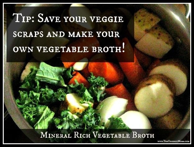 Tip: Turn Your Veggie Scraps into Vegetable Broth