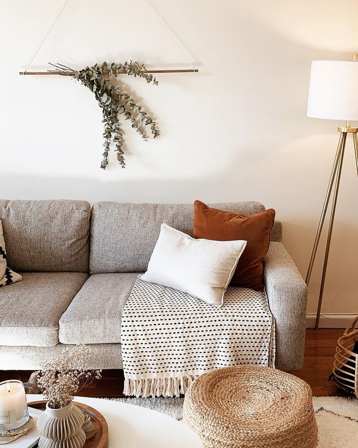 A Mix Of Mid Century Modern Bohemian And Industrial Interior Style Home And Home Decor Styles Home Living Living Room Designs