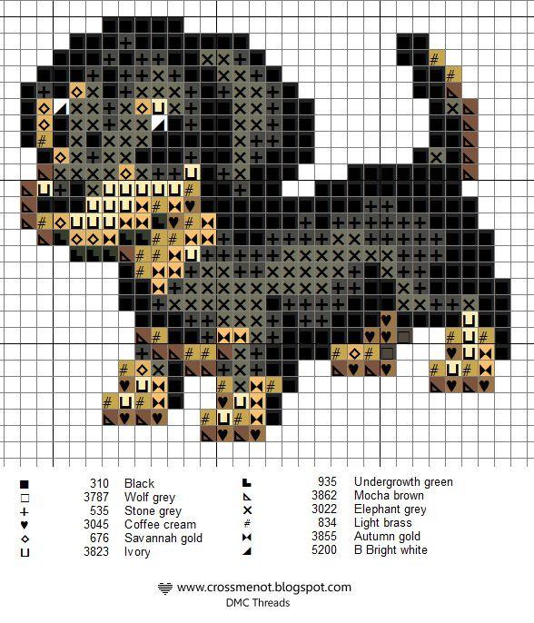 Cross me not: Lots free small X-stitch                           patterns