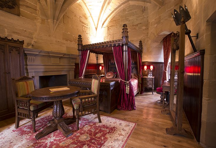 Tower Suites at Warwick Castle