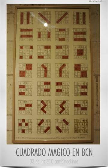 No solo de números consecutivos vive el cuadrado mágico