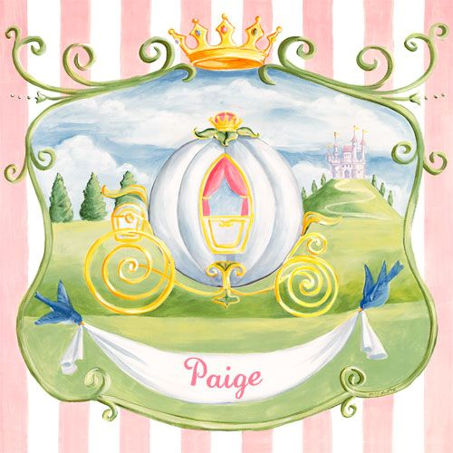 Princess Coach by Oopsy daisy