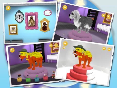 Mini Pupstars - Celeb-style your pooch in a 3D environment #kidsapps #kidsgames