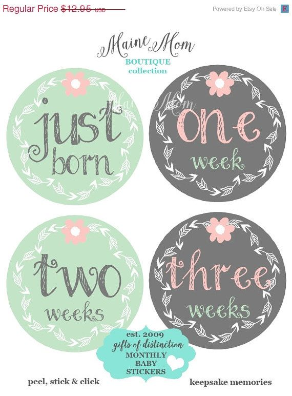 Just Born Baby Gift Ideas : Ideas about monthly baby on