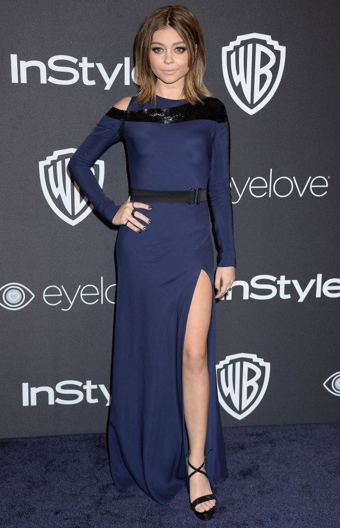 Golden Globes 2017: Best Afterparty Dresses - Sarah Hyland in Amanda Wakeley