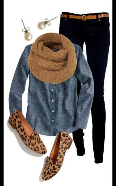 outfit for leopard flats