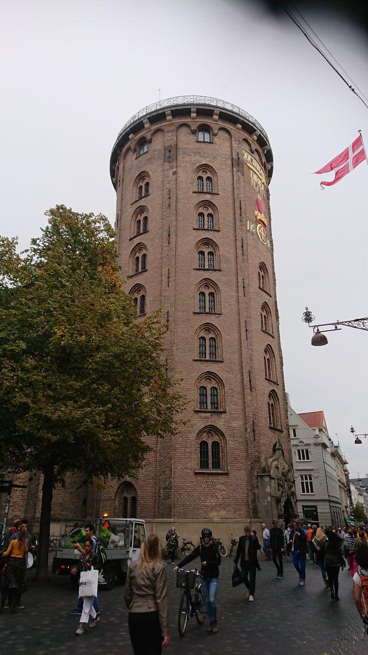 Rundtaarn Copenhagen   Leaning tower of pisa, Leaning ...