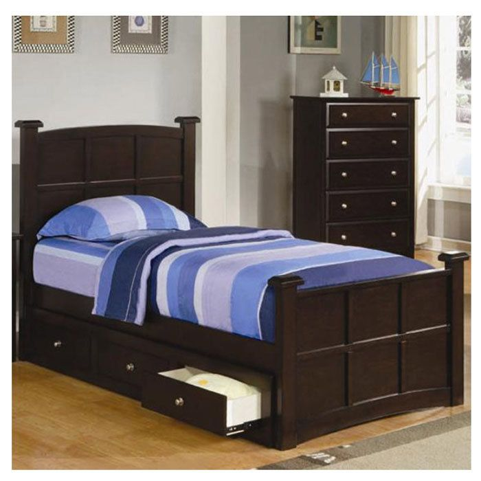 11 best twin beds images on pinterest storage beds 3 4 for Teen bedroom storage