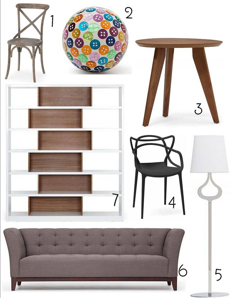 1. Cross Chair; 2. Decorative Ball; 3. Osaka Accent Table; 4. Master Chair; 5. Silhouette Floor Lamp; 6. Lexington Sofa; 7. Chicago Bookcase. Like Umbra, Structubeis a design store that I've seen ...