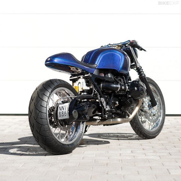 Unique Custom Cycles of Sweden is famous for its traditional chopper builds. This stunning BMW R nineT cafe racer is about to change all that.