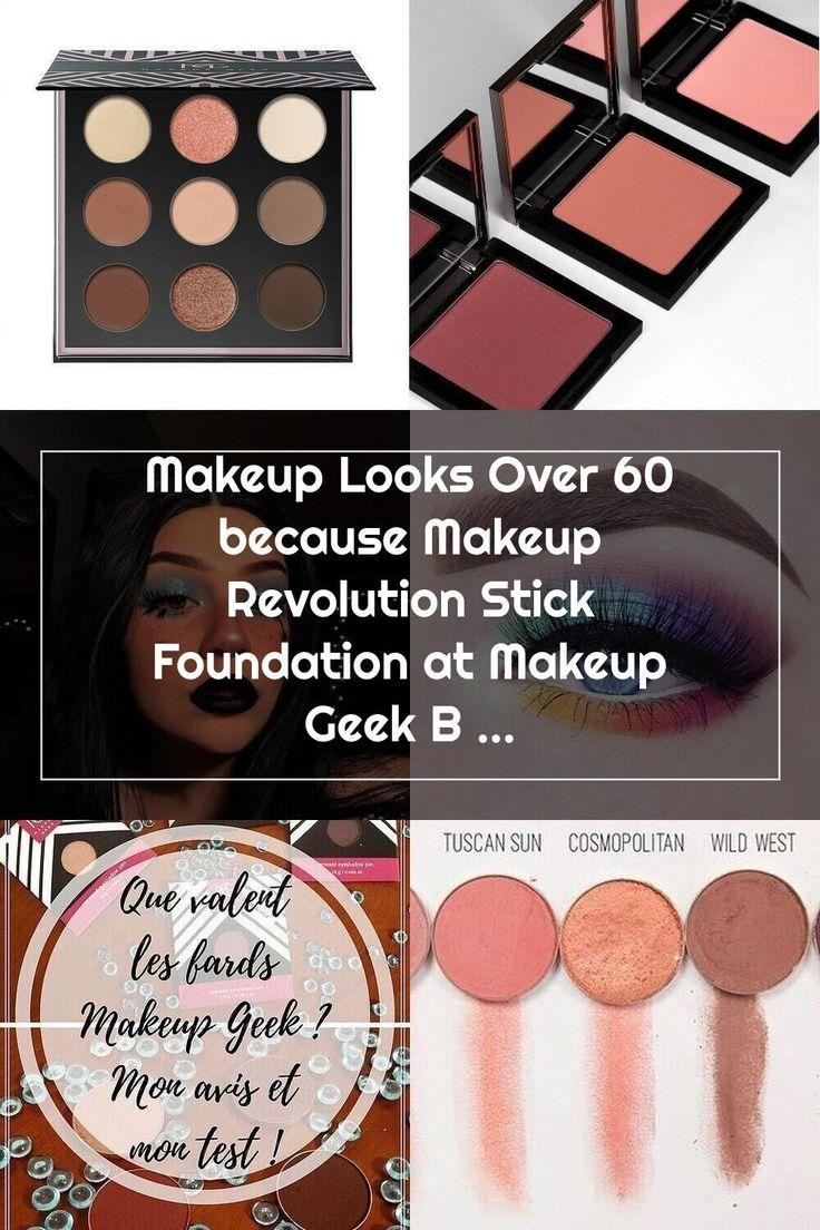 Makeup Looks Over 60 because Makeup Revolution Stick