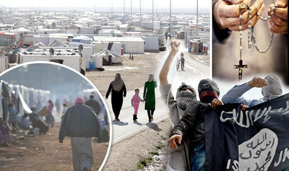 Heading for Britain: ISIS sends ASSASSINS into UN refugee camps to murder Christians