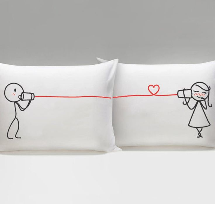 Gifts for Her Couples Gift Boyfriend Gift Wife Gift Couple Pillowcases