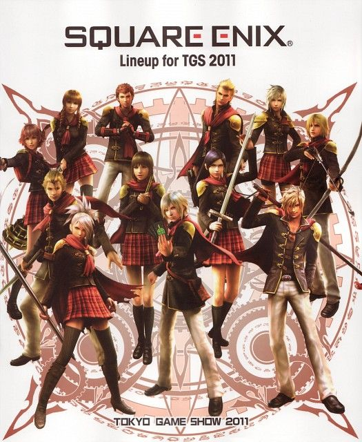Square Enix, Final Fantasy Type-0, Ace (Final Fantasy Type-0), Cinque (Final Fantasy Type-0), King (Final Fantasy Type-0)