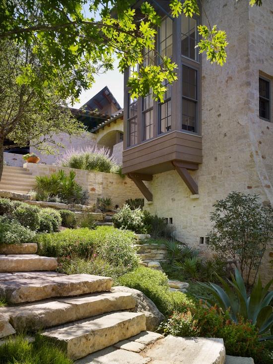 39 best images about hillside landscaping on pinterest for Hillside rock garden designs