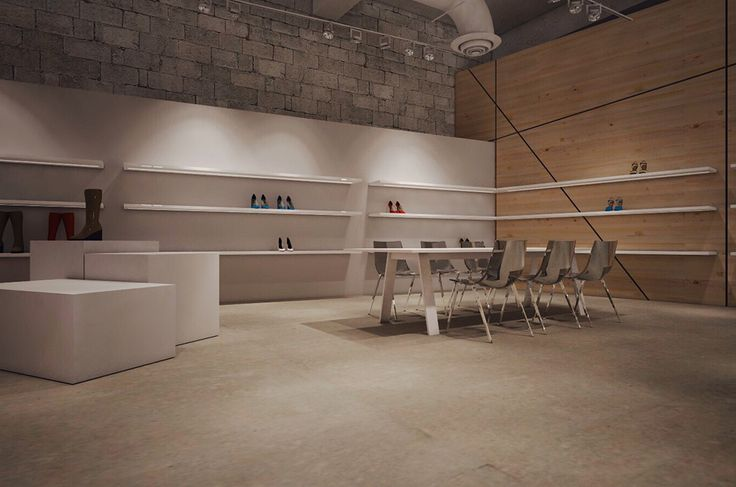 Shoes Showroom | Tavros | iidsk  |  Interior Design & Construction