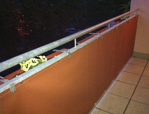 12 Besten Balkonbespannung Bilder Auf Pinterest Balkon
