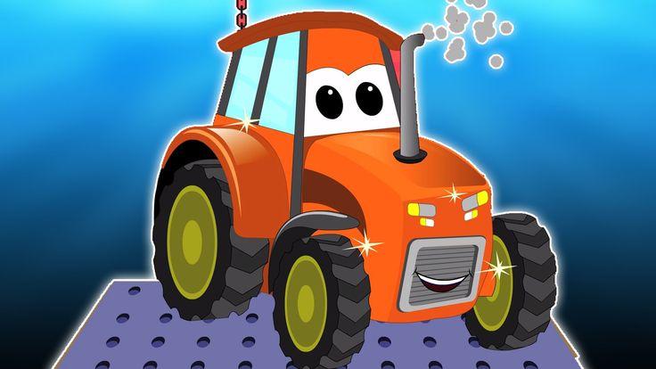 Traktor für Kinder | Autowäsche | Kinder-Videos | Transport | Tractor | ...