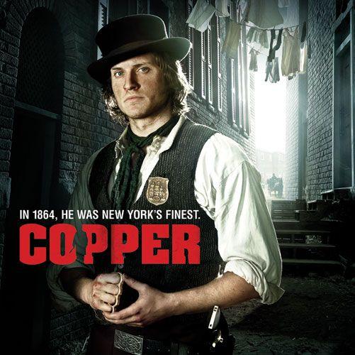 Copper TV Series BBC America...gotta love anything about the Irish!
