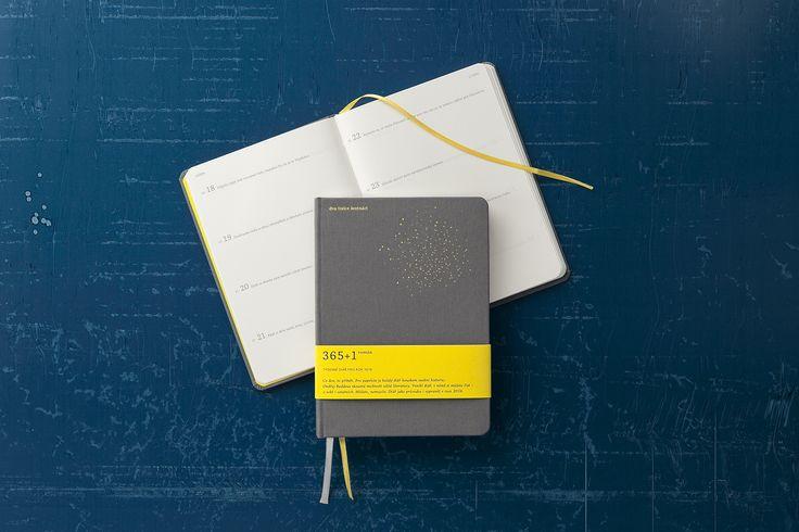 365+1 román (týdenní) papelote - nové české papírnictví new czech stationery, Prague diary, journal, planner