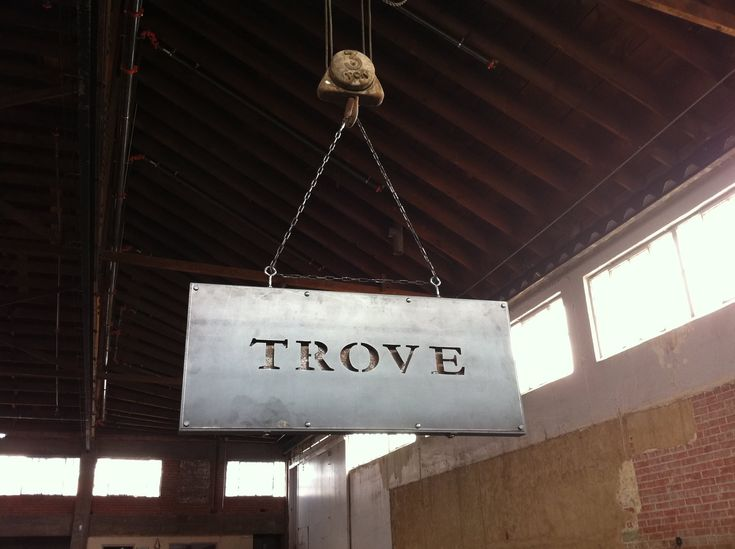 Custom Vintage Industrial Sign – Vintage Industrial Furniture