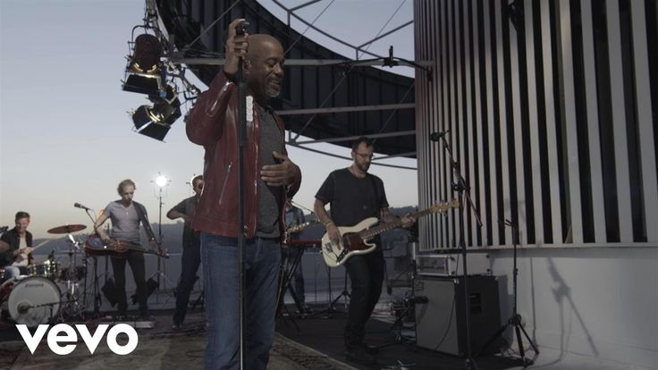 Darius Rucker - For The First Time (Top Of The Tower) - YouTube