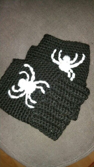 Spiderman crochet mittens spiderman mofjes haken