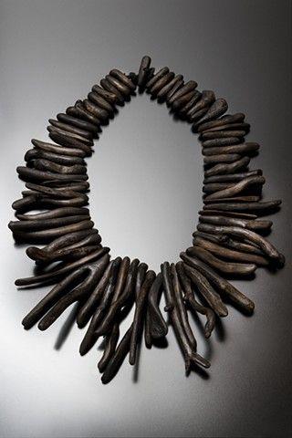Necklace | Nina Morrow. Driftwood.