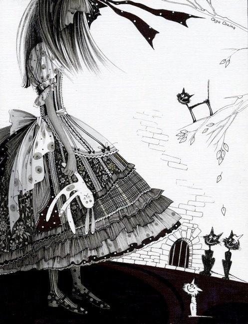 рисунки открытки на 9 мая алиса в зазеркалье
